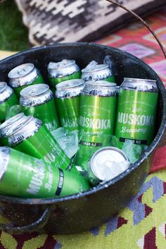Burgers and Beers with Muskoka Brewery