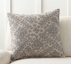 Moroccan Embroidered Pillow Cover | Pottery Barn