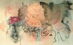 Rhyme and Reason 30 x 22 Lithograph, Relief and Etching by Shelley Thorstensen