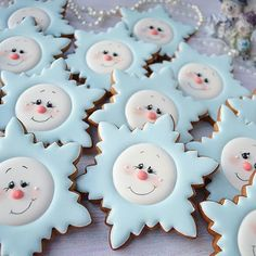 I would make these with a star cookie cutter and then add the faces