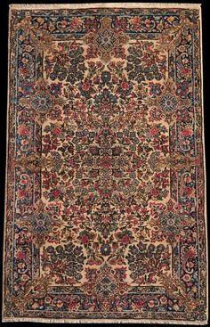 Kirman Alt, um 1920, Kirman-Raver - Persien - Größe 147 x 91 cm