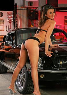 Hot Babe With 67 GT500