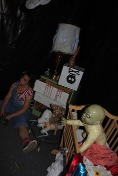 scary clown haunted house ideas | Clown Carnival Hallway