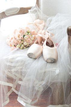 Romantic ballet accessories ✿⊱╮