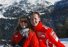 Shock:The man arrested on suspicion of leaking Michael Schumacher's medical files has bee...