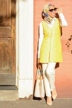 HH Style Guide: Vintage 60's Vest in West Village