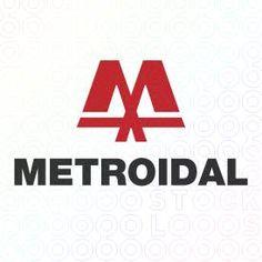 Lettershape Logo Designs of the letter M mark For Sale on Stock Logos   Metroidal logo