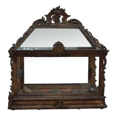 Italian Baroque Glass Reliquary | From a unique collection of antique and modern…