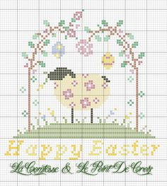 The Comtesse & Le Point De Croix: Easter is coming
