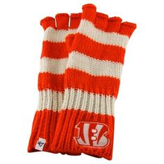 '47 Brand Cincinnati Bengals Ladies North Slope Fingerless Gloves – Orange