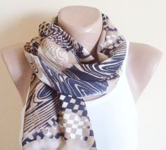 Valentines day gifts scarf women accessories by BloomedFlower, $18.00