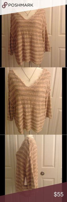Free people ballerina sweater nwt Free people ballerina sweater. Nwt. Size small. Necklace not included. No trades. Free People Sweaters Crew & Scoop Necks
