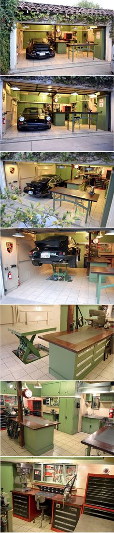 Jack Olsen's 12-Gauge Garage: A glorious mix of 60's retro style and ingenious practicality