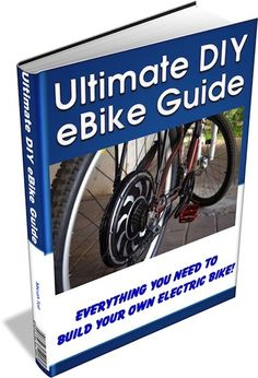 Micah Toll is raising funds for Learn To Build Your Own Electric Bicycle - The Book! Electric bicycles are a great way to get around town and save money on gas. My book shows you how easy it is to build your own eBike. E Bicycle, Motorized Bicycle, Electric Bike Kits, Electric Cars, Powered Bicycle, Velo Vintage, Go Kart, Build Your Own, Mopeds