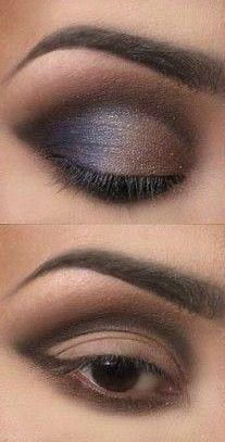 Smokey Eye Tutorial, step by step - Click the image for the Tutorial!