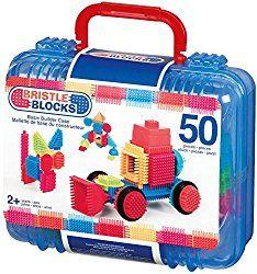Go to http://prenatal-baby-toddler-preschool-store.co.uk/bristle-block-50-piece-basic-builder-case-with-handle  to review Bristle block 50 piece Basic builder case with handle from Bristle Blocks
