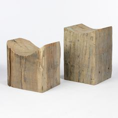 Wood Scoop Table | South of Market