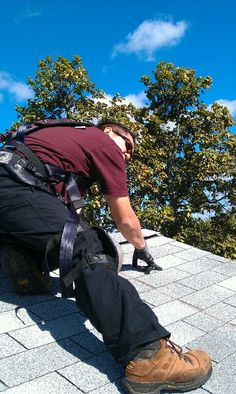 Working the roof. Clam, Hiking Boots, World, Shoes, Fashion, Moda, Zapatos, Shoes Outlet, Fashion Styles