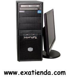Ya disponible Servidor GDX moni781 i7 4770 8gb 1tb rw dvd          (por sólo 613.95 € IVA incluído):   Este SERVIDOR GDX con la última tecnología i7 de 4ª Generación, DDR3, SATA III, USB 3.0 esta diseñado para satisfacer las necesidades de conectividad en entornos de la pequeña y mediana empresa a un coste más que ajustado.  -cpu intel core i7-4770 3.4ghz (4 núcleos) -8GbDDR3 kingston 1333 mhz -disco duro 1 Tb Sata III (6Gbps) -Gigalan integradaI -regrabadora DVD