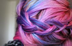 10 Colorful Hair Ideas to Express Yourself! 2 - https://www.facebook.com/different.solutions.page