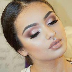 Soft Smoky Eye Make-up 🐼🐼🐼 … - Wedding Makeup Dramatic Smokey Eyes, Smoky Eye Makeup, Fall Makeup Looks, Wedding Makeup Looks, Day Makeup, Bride Makeup, Makeup Ideas, Nyx Cosmetics, Maquillage Goth