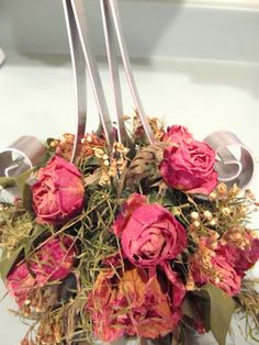 Grits & Giggles: Drying Flowers-Simple Tips