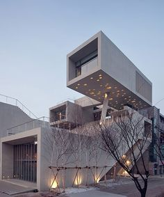 IDMM architects create f.s. one from stacked concrete boxes