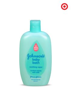 When your little one has a cold, Johnson's Soothing Vapor Baby Bath provides gentle comfort. Its mild formula contains rosemary, eucalyptus and menthol ingredients often used in aromatherapy. Plus, it gently cleanses skin, leaving it soft and fresh.