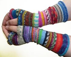 Fingerless gloves Arm warmers Womens Fingerless Long