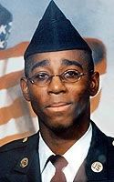 Army Spc. James E. Marshall  Died May 5, 2004 Serving During Operation Iraqi Freedom  19, of Tulsa, Okla.; assigned to 1st Battalion, 21st Field Artillery Regiment, 1st Cavalry Division, Fort Hood, Texas; killed May 5 when his vehicle hit an improvised explosive device in Baghdad.
