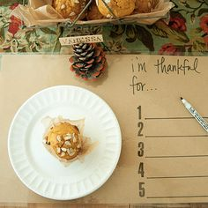 I'm Thankful Harvest Affaire Laminated Placemats Project