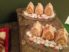 Mini Almond House Cakes