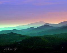 georgialandforms2008 / Blue Ridge Mountains
