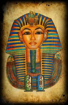 Egyptian natural papyrus...