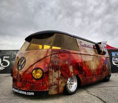 T1 VW Panel bus vintage drag turbo ''Awesome'':