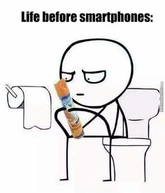 Life before smartphones. Kids today have no idea the struggle back in those days!