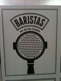 Baristas // Coffee