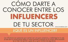 Cómo hacerte conocer entre los Influencers de tu sector
