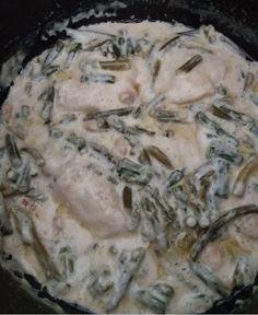 BACALAO CON VERDURAS Y NATA FUSSIONCOOK: ( vale para otros pescados). Poner en la cubeta 2 cdas.mantequilla hasta derretir, añadir nata cocinar y caldo de pescado. Al espesar añadir el pescado y esparragos trigueros, ajos tiernos y gambas. Menu pescado 5 mn. TAMBIEN se pueden hacer verduras en Menu verduras 3 mn, añadir el resto de ingredientes y Menu horno con tapa horno 10 mn.
