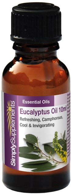 Eucalyptus oil is a refreshing, cool & invigorating fragrance. The oil has traditionally been used as a powerful decongestant for helping with respiratory problems. In diluted form it can be added to baths for its refreshing antiseptic effect & also to help ease muscle tension. Click on the image for more information.