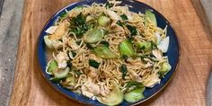 Jet Tila gets classic chicken lo mein on the table in just 15 minutes — prep included Stir Fry Recipes, Cooking Recipes, Chef Jet Tila, Chicken Lo Mein, Asian Recipes, Ethnic Recipes, Broccoli Beef, Food Network Recipes, Great Recipes