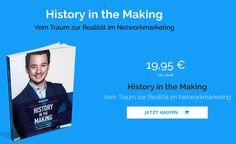 """""""History in the Making"""" vom Traum zur Realität im Networkmarketing, das neue MLM Buch von """"Jeunesse Double Diamond"""" Danien Feier http://rekrutier.de/buch-danienfeier/"""