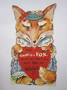 Smart as a FOX  Foxy Lady in Dress & Hat