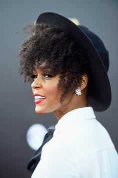 Janelle Monae Wash N' Go Hat Style