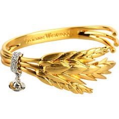 vivienne westwood harvest bangle.  AMAZING!!!  So hard to find CUTE sheaf of wheat things!!!