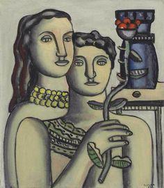 Fernand Leger(1881ー1955)「Les deux soeurs」(1932)