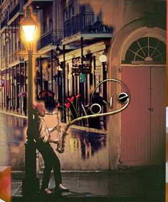 Jazz love..... created with Bazaart