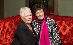 """Dame Judi Dench and Philomena Lee in movie """"Philomena"""""""