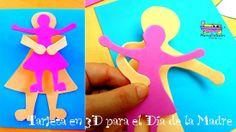 Tarjeta del Día de la Madre en 3d: Díselo en 3D: Feliz Día de la Madre!! http://www.manualidadesinfantiles.org/tarjeta-del-dia-de-la-madre-en-3d