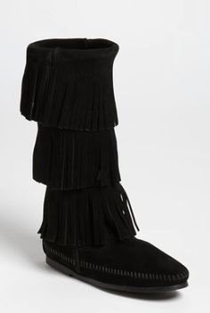 3-layer fringe boot  http://rstyle.me/n/p9mi6pdpe
